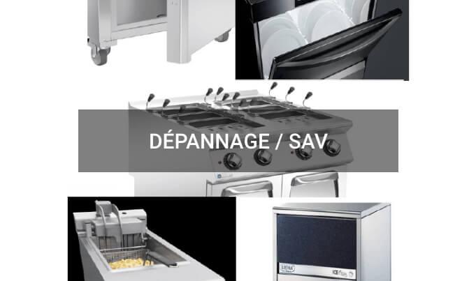 Dépannage SAV sur cuisine professionnelle BC PRO CHR